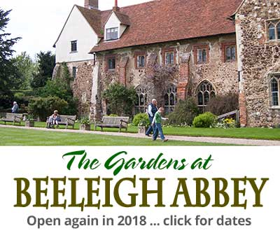 Why not visit the gardens at Beeleigh Abbey