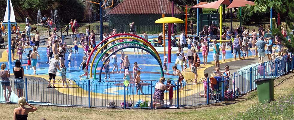 Maldon Splash Park In Promenade Park
